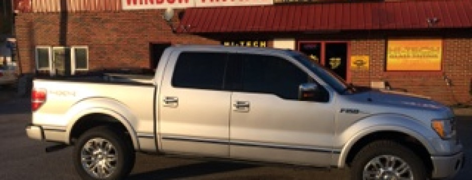 Truck Tint - Darkest Legal Tint
